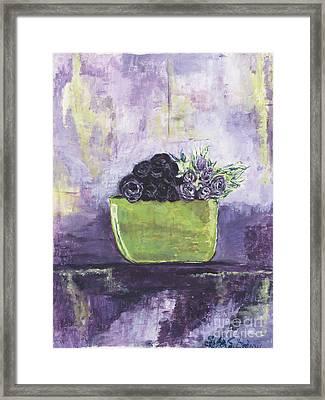 Sterling Framed Print by Helena Bebirian
