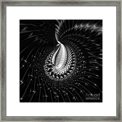Sterling Silver Framed Print by Renee Trenholm