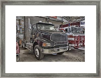 Sterling Truck Framed Print by Douglas Barnard