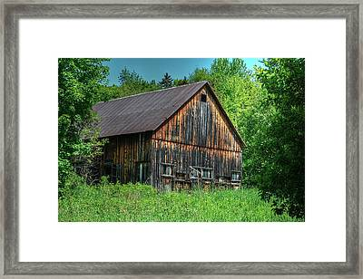Sterling Valley Barn Framed Print