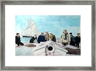 Sterlinghayden And The'38 Race Framed Print