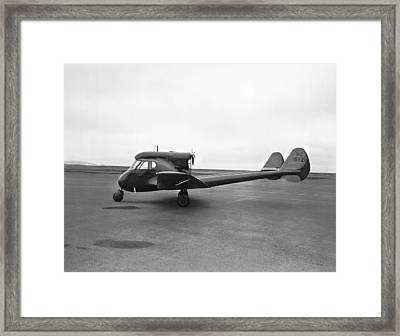 Sterman-hammond Y-1s Aircraft Framed Print by Underwood Archives