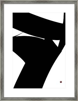 Stern Framed Print by Edward Jensen