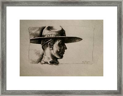 Stetson Framed Print