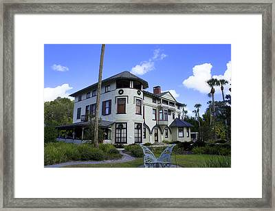 Stetson Mansion Framed Print by Laurie Perry