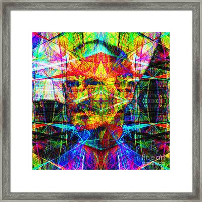 Steve Jobs Ghost In The Machine 20130618 Square Framed Print