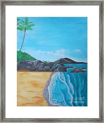 Steven Tyler In Hawaii Framed Print