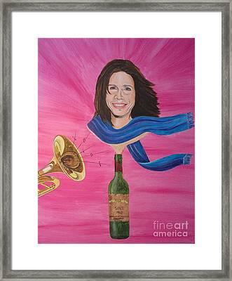 Steven Tyler Framed Print by Jeepee Aero