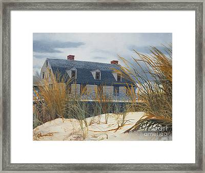 Stevens House Framed Print