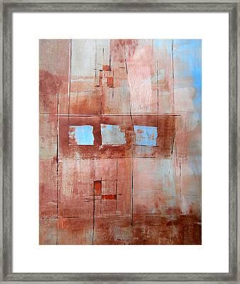 Steven's House Framed Print by Buck Buchheister