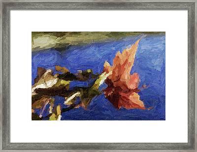 Stevens Lake Park Series 12 Framed Print by David Allen Pierson