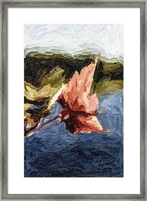 Stevens Lake Park Series 13 Framed Print by David Allen Pierson
