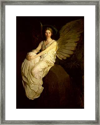 Stevenson Memorial Framed Print by Abbott H Thayer