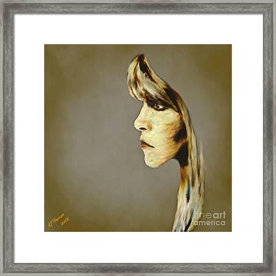 Stevie Nicks Framed Print by Arne Hansen