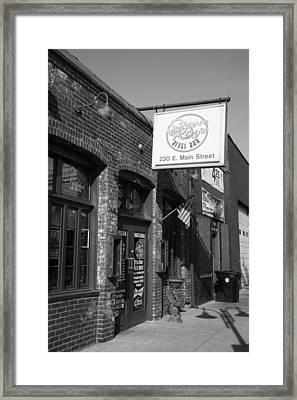 Stevie Ray's Place I Framed Print