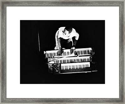 Stevie Wonder - Balconey View Framed Print