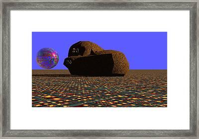 Stevo Framed Print by Wayne Bonney