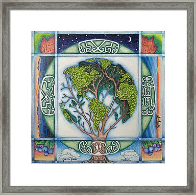 Stewardship Of The Earth Framed Print by Arla Patch