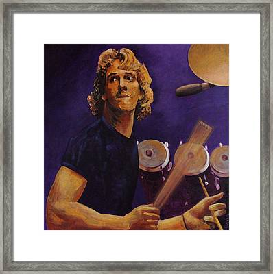 Stewart Copeland - The Police Framed Print