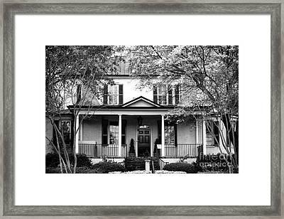 Stewart Parker House Framed Print by John Rizzuto