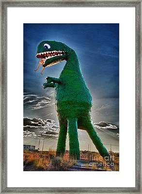 Stewarts Fossils Framed Print