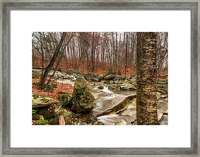 Stickney Brook 3 Framed Print by Jeremy Farnsworth
