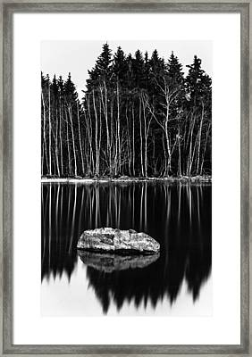 Sticks And Stones Framed Print by Matti Ollikainen