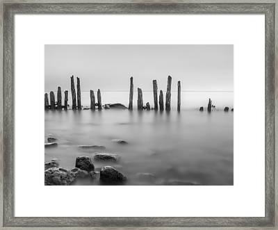 Sticks Framed Print