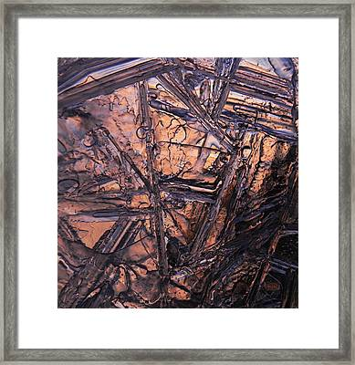 Sticks Together Framed Print