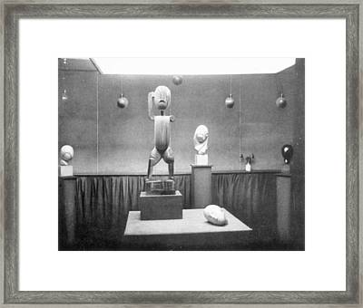 Stieglitz Gallery, Nyc, 1914 Framed Print by Granger