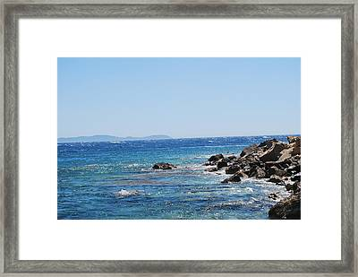 Framed Print featuring the photograph Stiff Breeze by George Katechis