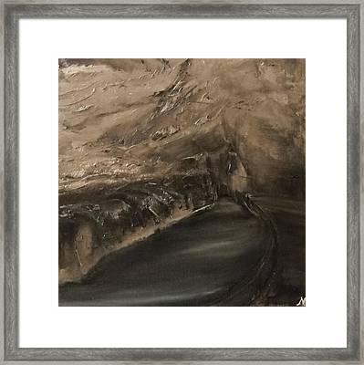 Stiffe - Black Lake Room Framed Print by Nicla Rossini