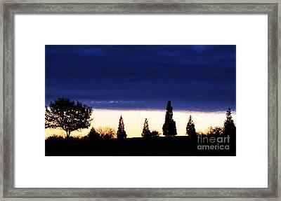 Stifled Framed Print by Ron  Tackett