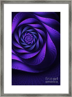 Stile Floreal Framed Print