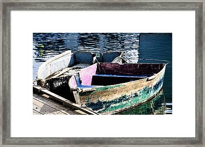 Still Afloat Framed Print by Mike Martin