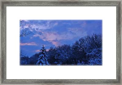 Still Chill Framed Print by Elizabeth Sullivan