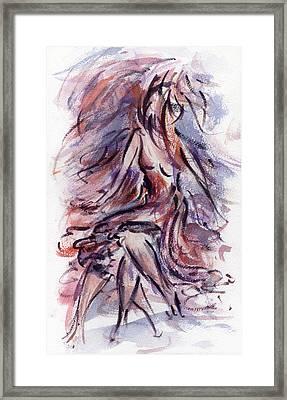 Still Dancing Framed Print by Rachel Christine Nowicki