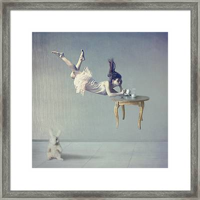 Still Dreaming Framed Print by Anka Zhuravleva