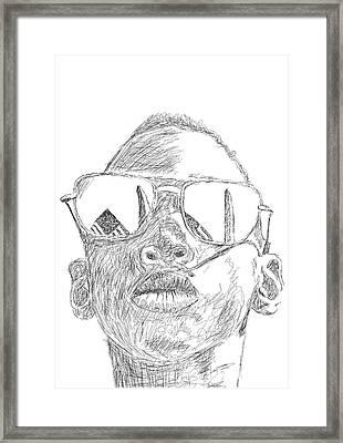 Still Dreaming Framed Print by Danaan Andrew