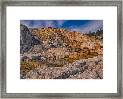 Still Flowing Framed Print