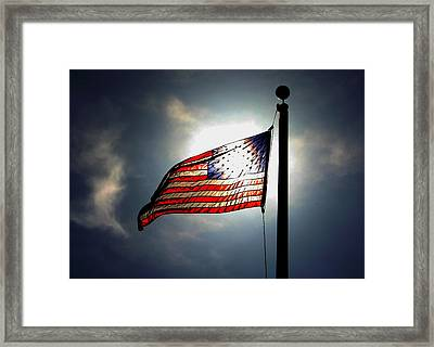 Framed Print featuring the photograph Still Flying II by Richard Stephen