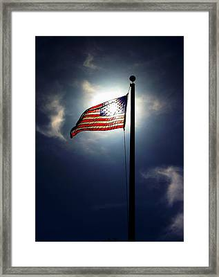 Framed Print featuring the photograph Still Flying by Richard Stephen