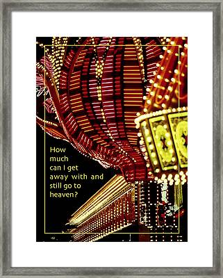 Still Get To Heaven Framed Print by Mike Flynn