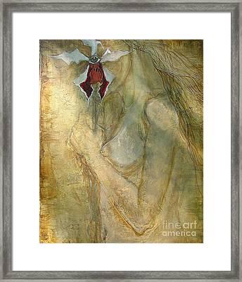 Still Hiding Framed Print by Delona Seserman