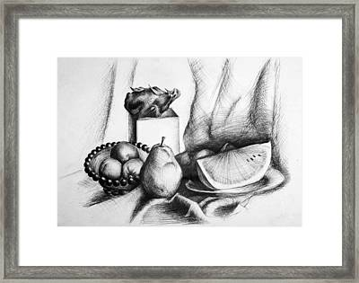 Still Life 2 Framed Print