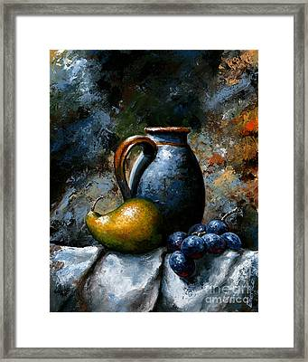 Still Life 24 Framed Print by Emerico Imre Toth