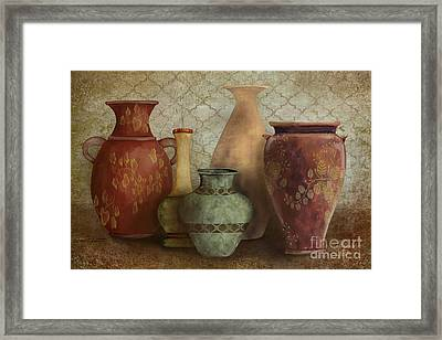 Still Life-a Framed Print by Jean Plout