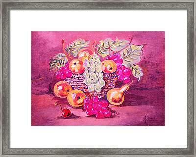 Still Life Art Framed Print