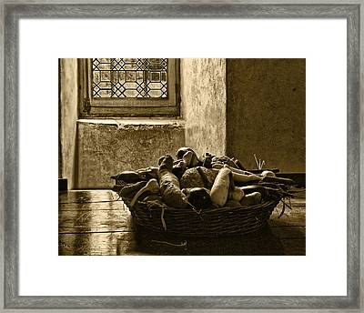 Still Life At Chenonceau Framed Print
