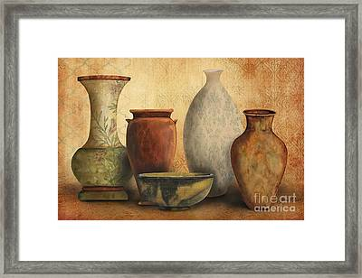 Still Life-d Framed Print by Jean Plout